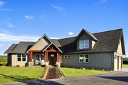 Craftsman Style House Plan - 3 Beds 2.5 Baths 2297 Sq/Ft Plan #1070-15 Exterior - Front Elevation