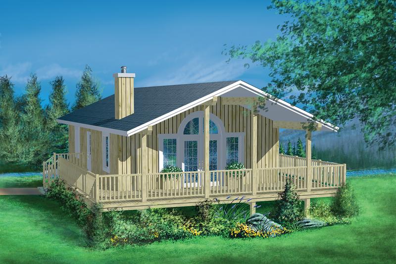 House Design - Beach Exterior - Front Elevation Plan #25-1107