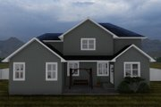 Craftsman Style House Plan - 4 Beds 2.5 Baths 2399 Sq/Ft Plan #1060-52 Exterior - Rear Elevation