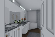 Architectural House Design - Traditional Interior - Master Bathroom Plan #1060-8