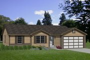 Ranch Style House Plan - 4 Beds 2 Baths 1510 Sq/Ft Plan #116-141
