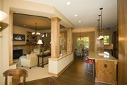 Craftsman Style House Plan - 4 Beds 3.5 Baths 2909 Sq/Ft Plan #56-597 Interior - Family Room