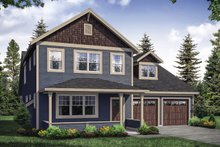 Traditional Exterior - Front Elevation Plan #124-1121