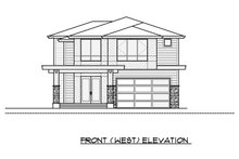 Home Plan - Contemporary Exterior - Front Elevation Plan #1066-50