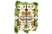 Log Style House Plan - 4 Beds 2 Baths 1280 Sq/Ft Plan #942-51 Floor Plan - Main Floor Plan