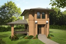 Contemporary Exterior - Front Elevation Plan #932-134
