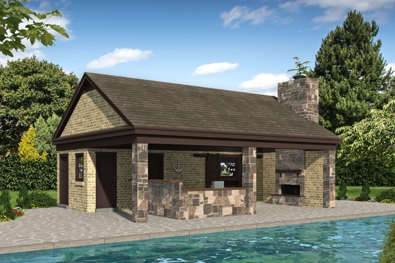 Dream House Plan - Country Exterior - Front Elevation Plan #932-135