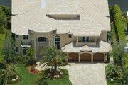 Mediterranean Style House Plan - 5 Beds 6.5 Baths 5016 Sq/Ft Plan #420-161 Photo