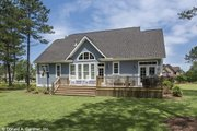 Craftsman Style House Plan - 3 Beds 2 Baths 1753 Sq/Ft Plan #929-609 Exterior - Rear Elevation