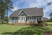Craftsman Exterior - Rear Elevation Plan #929-609