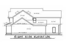 Architectural House Design - Farmhouse Exterior - Other Elevation Plan #20-2392