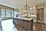Traditional Style House Plan - 4 Beds 3.5 Baths 3306 Sq/Ft Plan #927-43 Interior - Kitchen