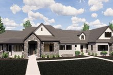 Home Plan - European Exterior - Front Elevation Plan #920-113