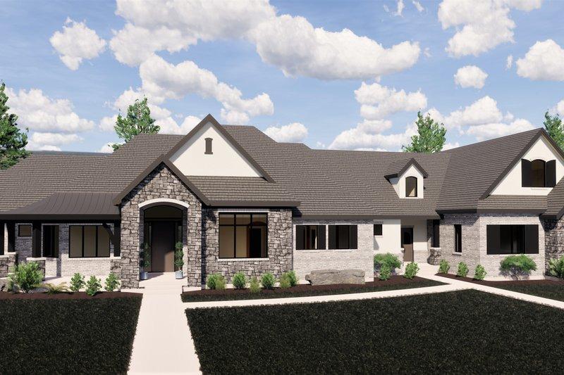 House Plan Design - European Exterior - Front Elevation Plan #920-113