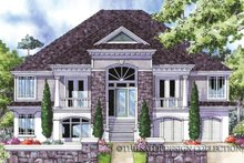 Southern Exterior - Front Elevation Plan #930-163
