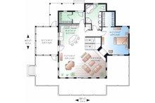 Country Floor Plan - Main Floor Plan Plan #23-849