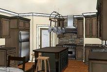 Country Interior - Kitchen Plan #44-197