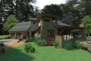 European Style House Plan - 3 Beds 4 Baths 3927 Sq/Ft Plan #120-182 Exterior - Other Elevation