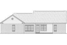 House Plan Design - Traditional Exterior - Rear Elevation Plan #21-142