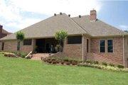 European Style House Plan - 4 Beds 4.5 Baths 4510 Sq/Ft Plan #17-1171 Exterior - Rear Elevation