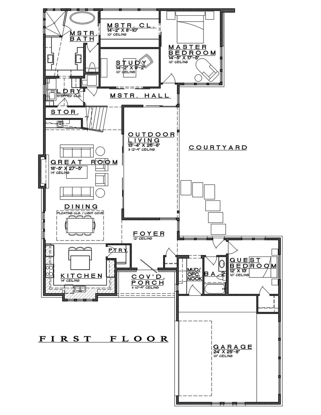 Contemporary Style House Plan - 4 Beds 4 Baths 3349 Sq/Ft ... on north central, north california, north seattle, north st. louis county, north lake wisconsin, north america gyre, north europe, north lebanon,