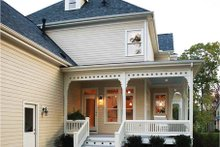 Victorian Exterior - Outdoor Living Plan #410-104