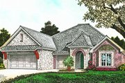 European Style House Plan - 3 Beds 2.5 Baths 2306 Sq/Ft Plan #310-1283