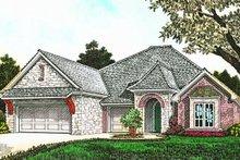 House Plan Design - European Exterior - Front Elevation Plan #310-1283