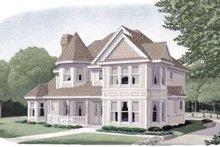 Dream House Plan - Victorian Exterior - Front Elevation Plan #410-187