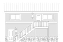 House Plan Design - Contemporary Exterior - Other Elevation Plan #932-70