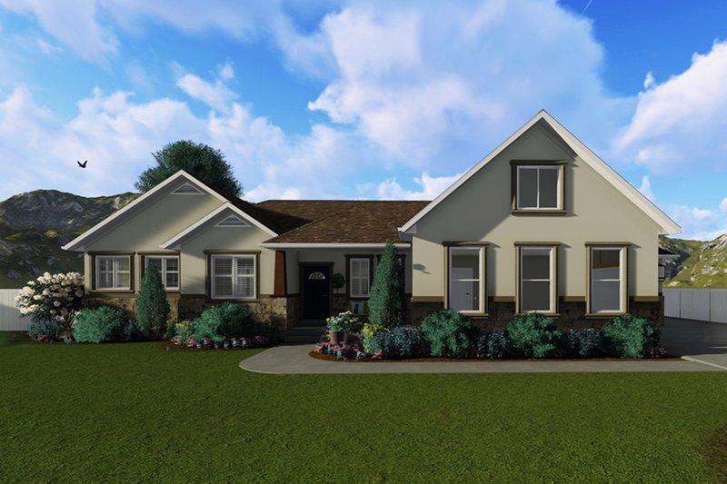 House Plan Design - Ranch Exterior - Front Elevation Plan #1060-2