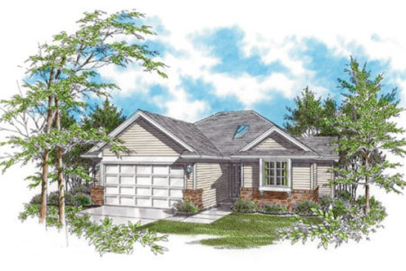 Traditional Exterior - Front Elevation Plan #48-269