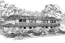Traditional Exterior - Front Elevation Plan #60-602