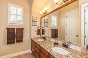 European Style House Plan - 4 Beds 4 Baths 3040 Sq/Ft Plan #80-200 Interior - Master Bathroom