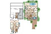 Beach Style House Plan - 3 Beds 3.5 Baths 4712 Sq/Ft Plan #27-569 Floor Plan - Main Floor Plan