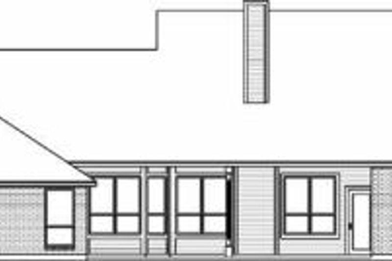 Colonial Exterior - Rear Elevation Plan #84-142 - Houseplans.com