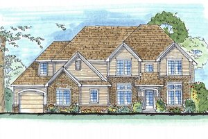 Traditional Exterior - Other Elevation Plan #455-190