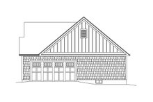 House Design - Ranch Exterior - Other Elevation Plan #57-661