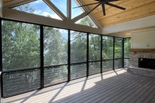 Modern Exterior - Covered Porch Plan #437-108