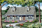 Craftsman Style House Plan - 3 Beds 2.5 Baths 1040 Sq/Ft Plan #456-9 Exterior - Other Elevation