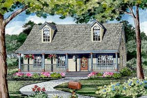 Craftsman Exterior - Other Elevation Plan #456-9