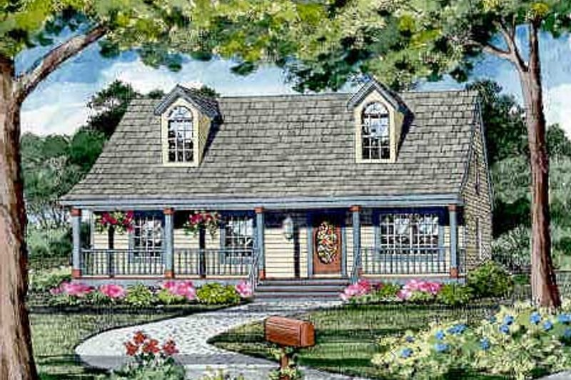 Craftsman Style House Plan - 3 Beds 2.5 Baths 1040 Sq/Ft Plan #456-9