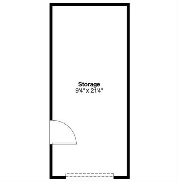 Traditional Floor Plan - Main Floor Plan Plan #124-795