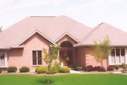 Traditional Style House Plan - 3 Beds 3.5 Baths 2304 Sq/Ft Plan #421-115 Exterior - Front Elevation