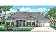 Home Plan Design - European Exterior - Front Elevation Plan #45-143