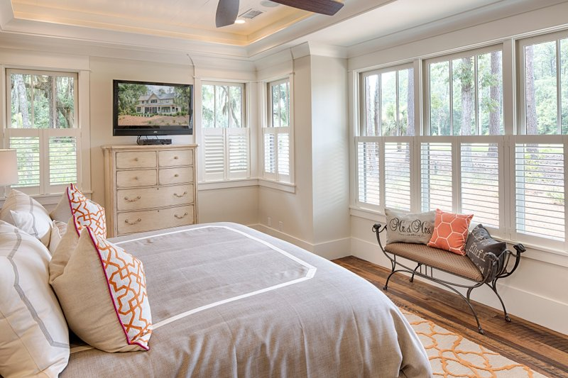 Country Interior - Master Bedroom Plan #928-13 - Houseplans.com