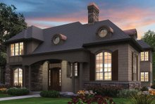 Dream House Plan - Traditional Exterior - Front Elevation Plan #48-244