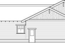 Home Plan - Bungalow Exterior - Other Elevation Plan #434-7