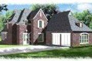 European Style House Plan - 4 Beds 3 Baths 2751 Sq/Ft Plan #15-273 Photo