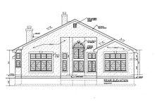 Dream House Plan - European Exterior - Rear Elevation Plan #3-250